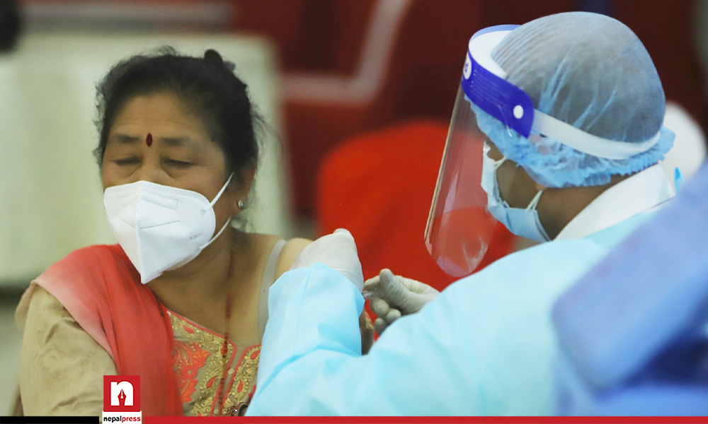 Vero Cell to be given to citizens aged 60 and 61 in Kathmandu Valley on Monday and Tuesday