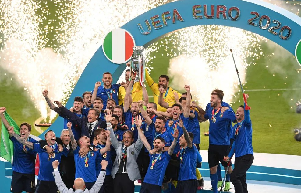 Italy become European champions in 53 years after defeating England
