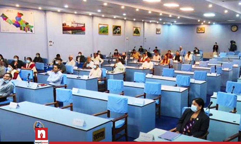 Lumbini Province brings budget thru ordinance