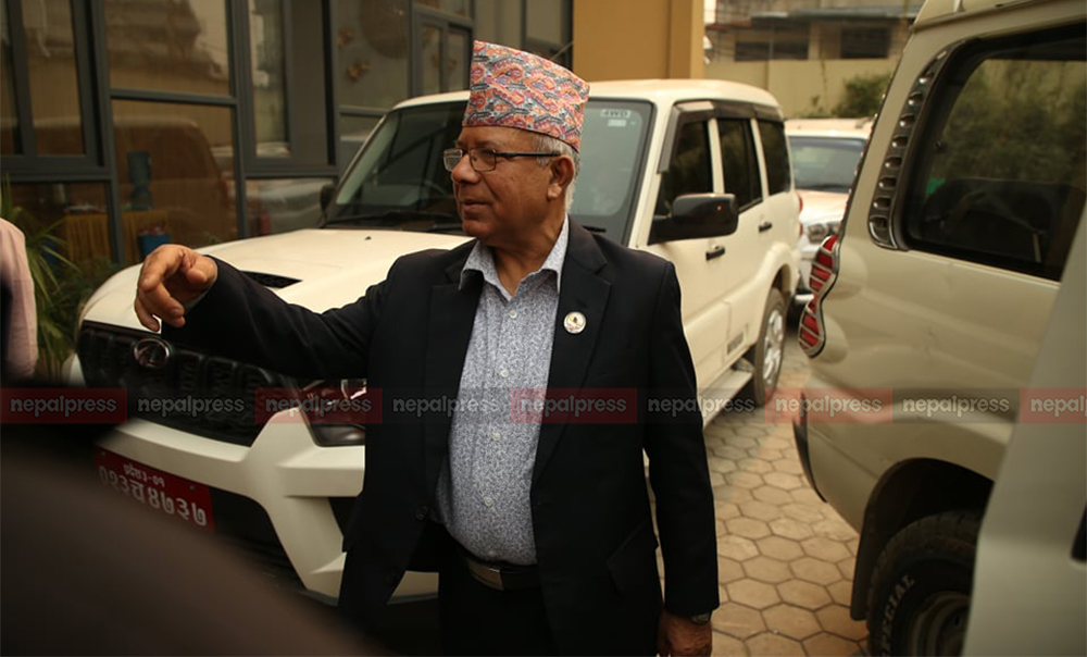 Nepal-led faction urges party Chair Oli to focus on party unity