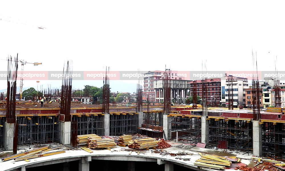 Construction of new Parliament building gains momentum