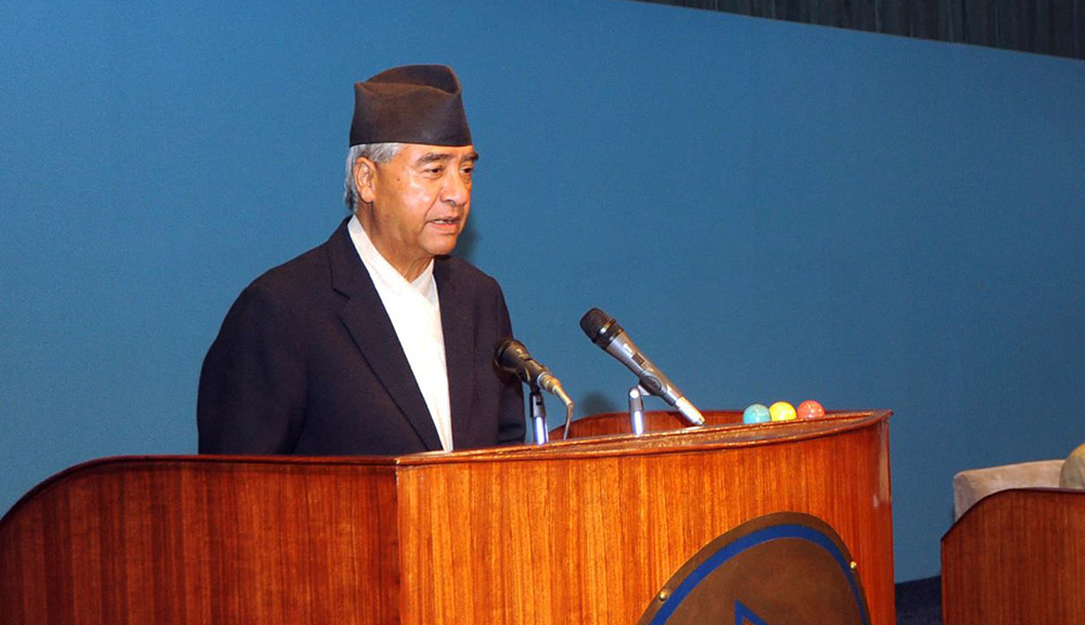 I will cooperate with everyone to resolve common problems: PM Deuba