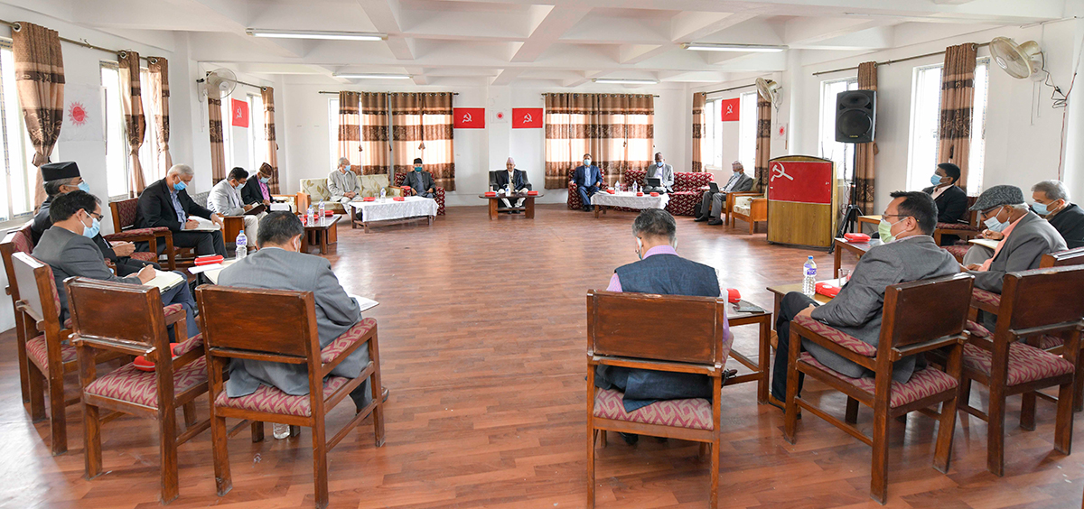 UML not to give trust vote to Deuba-led government
