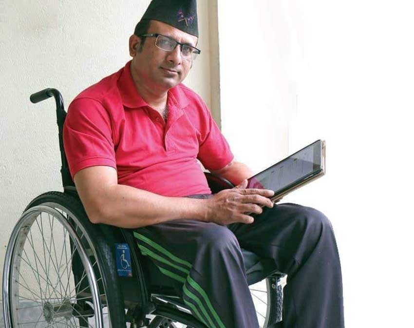 Wheelchair-bound Budhathoki shows path to make Nepal an accessible tourism destination