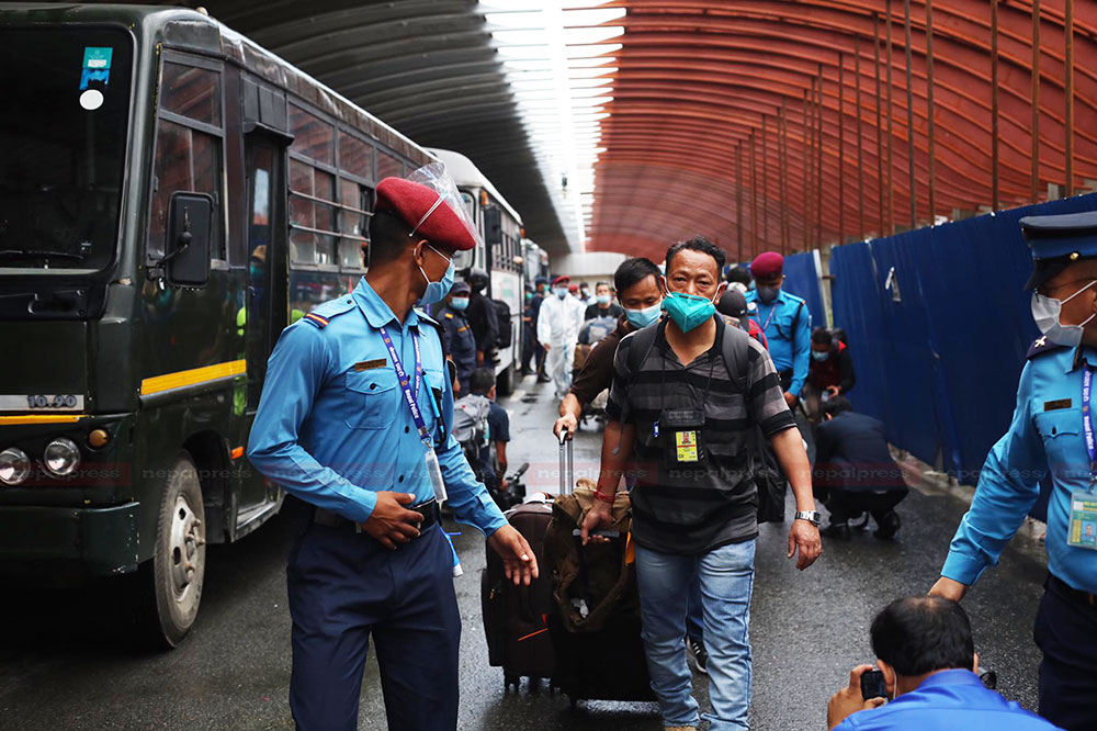 72 more Nepalis rescued from Afghanistan arrive home