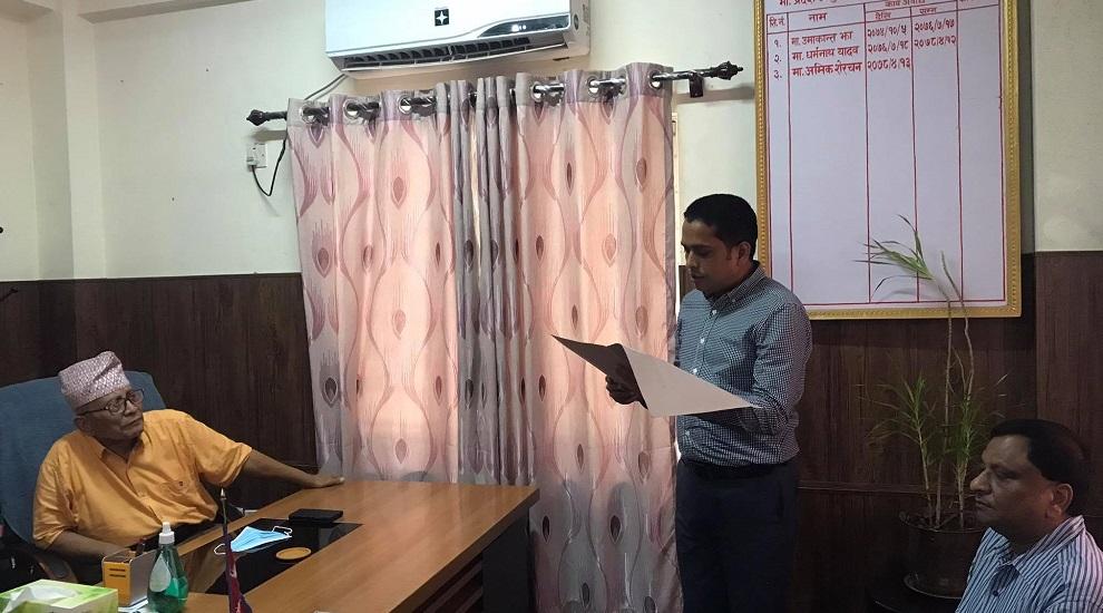 41 lawmakers submit application demanding new govt in Lumbini