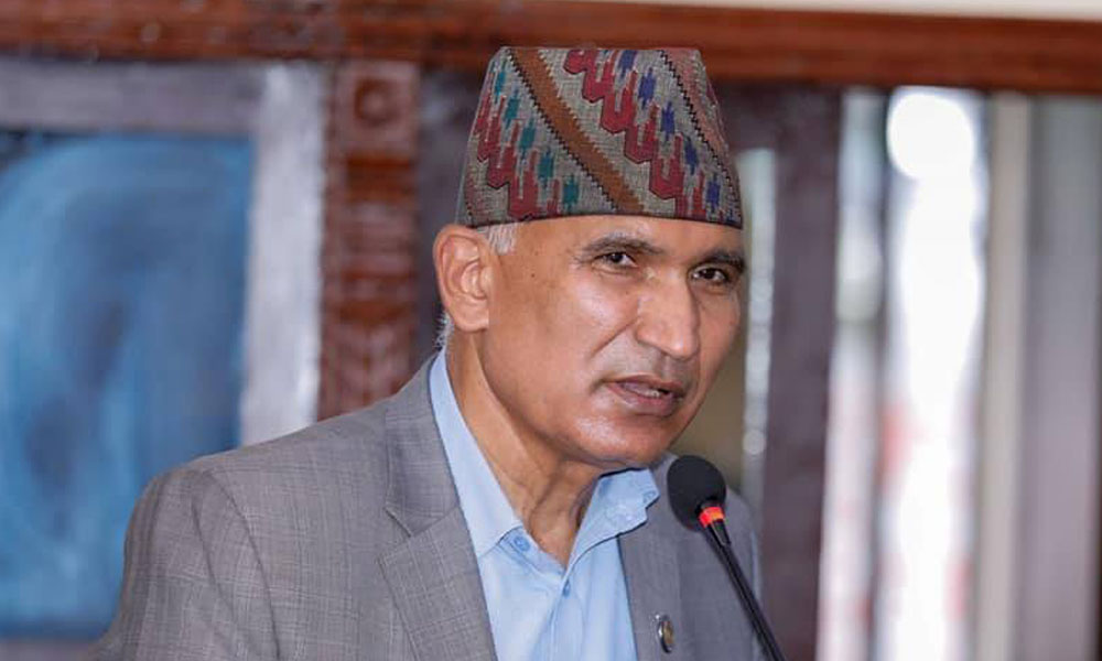 Former FinMin Paudel terms white paper as factless allegation paper