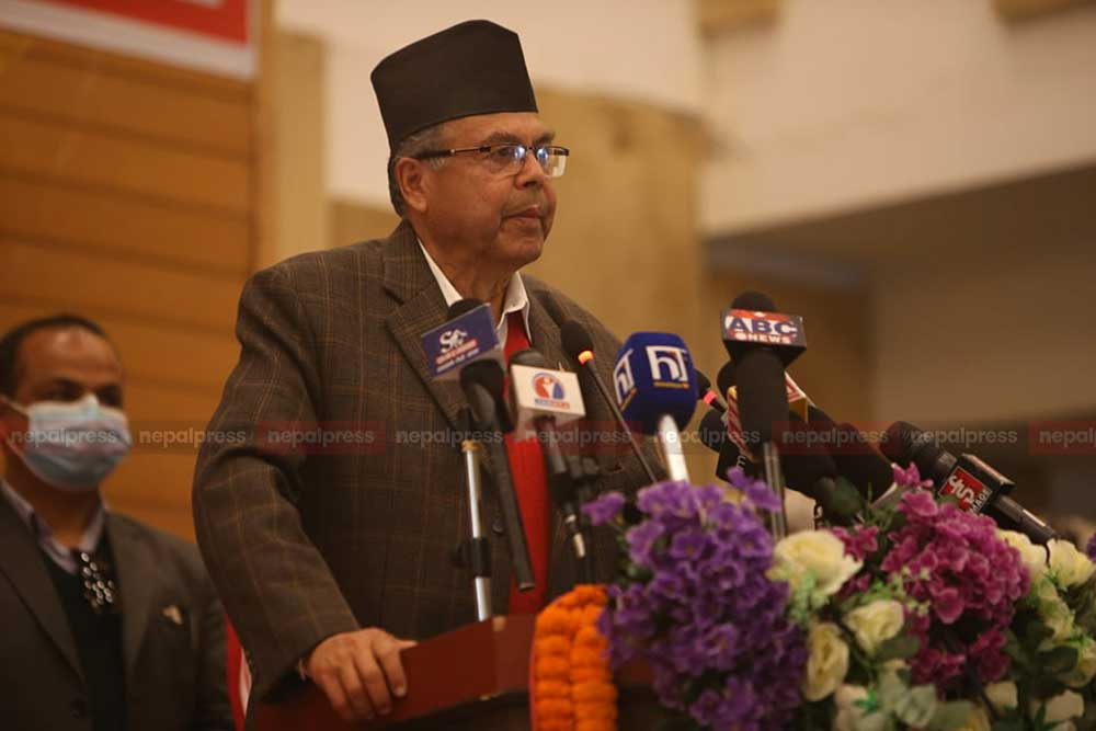 Jhalanath Khanal abandons CPN-UML