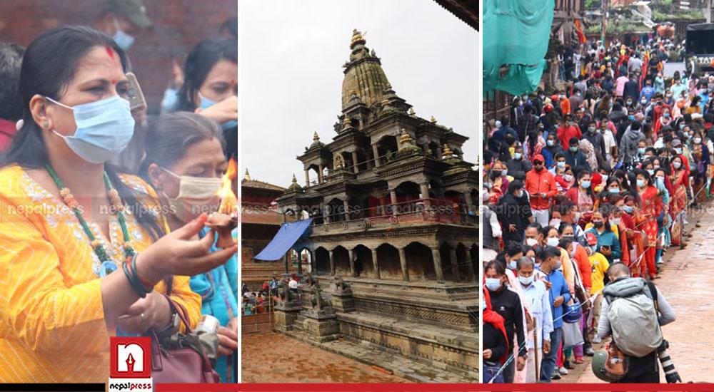 Krishna Janmashtami being observed across the nation