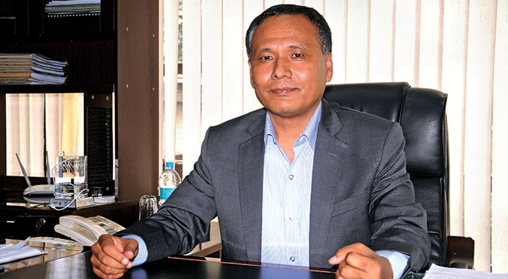 Kul Man Ghising reappointed as NEA MD