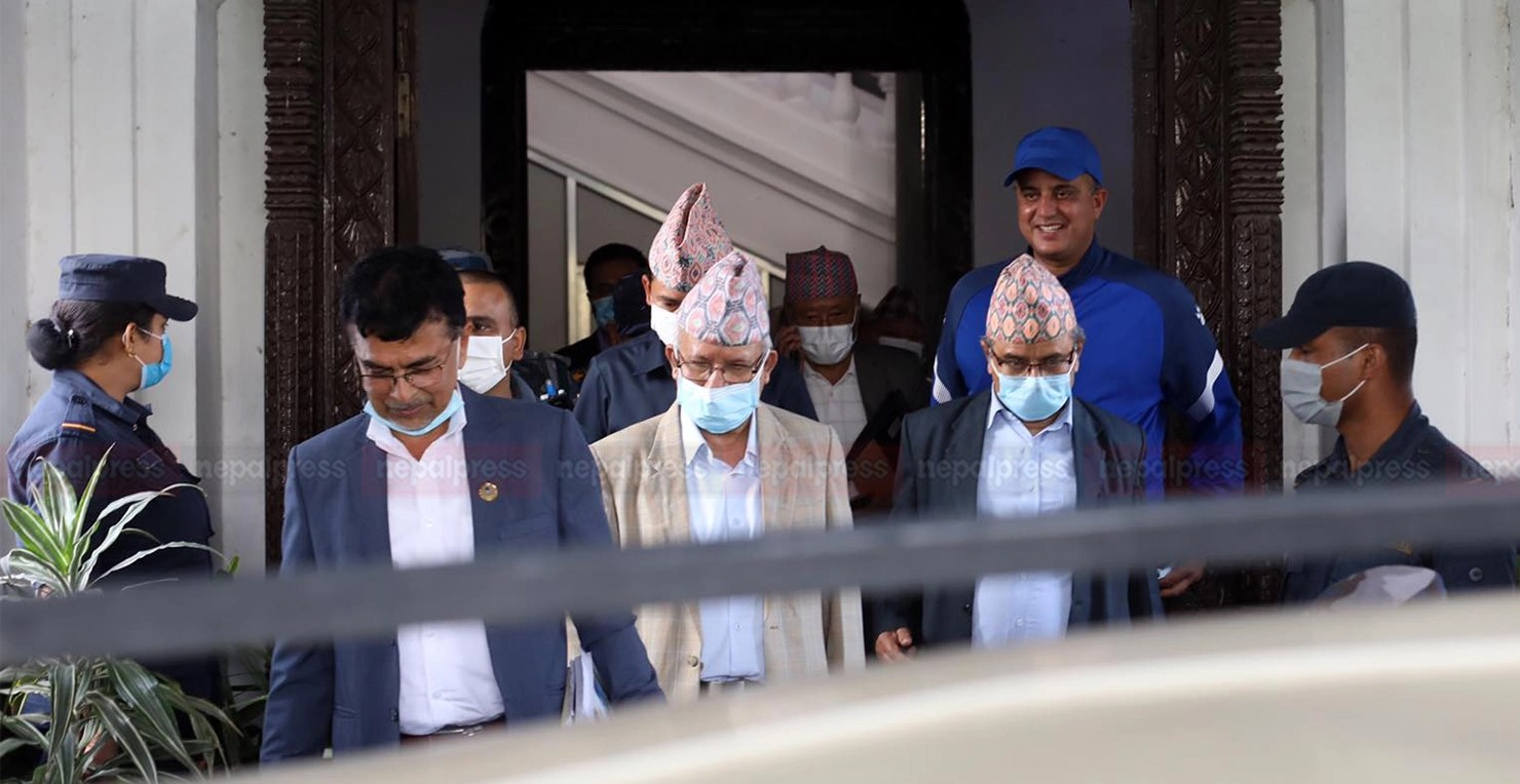 Madhav Nepal files application at EC to register new party CPN (Unified Socialist)