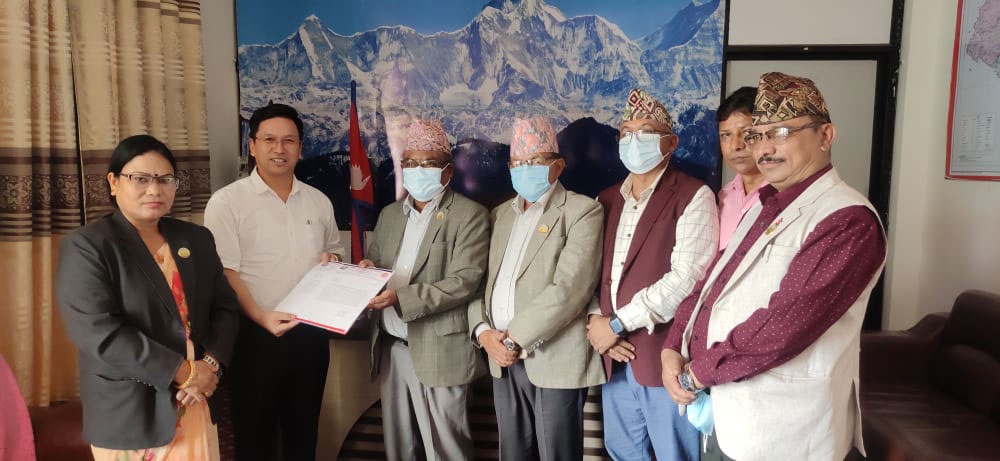 UML sends letter to Speaker seeking Shahi, Oli's removal from post of lawmakers