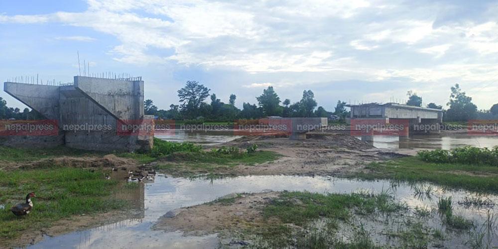10 years on, bridge construction over Kandra River in Kailali in limbo