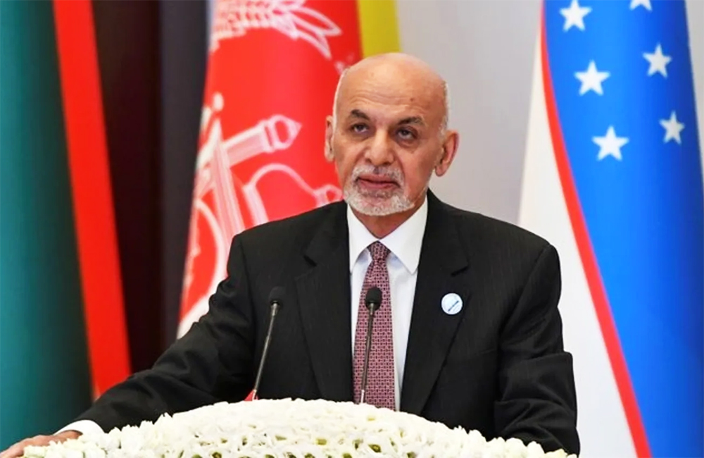Afghanistan President Ashraf Ghani leaves country, say officials