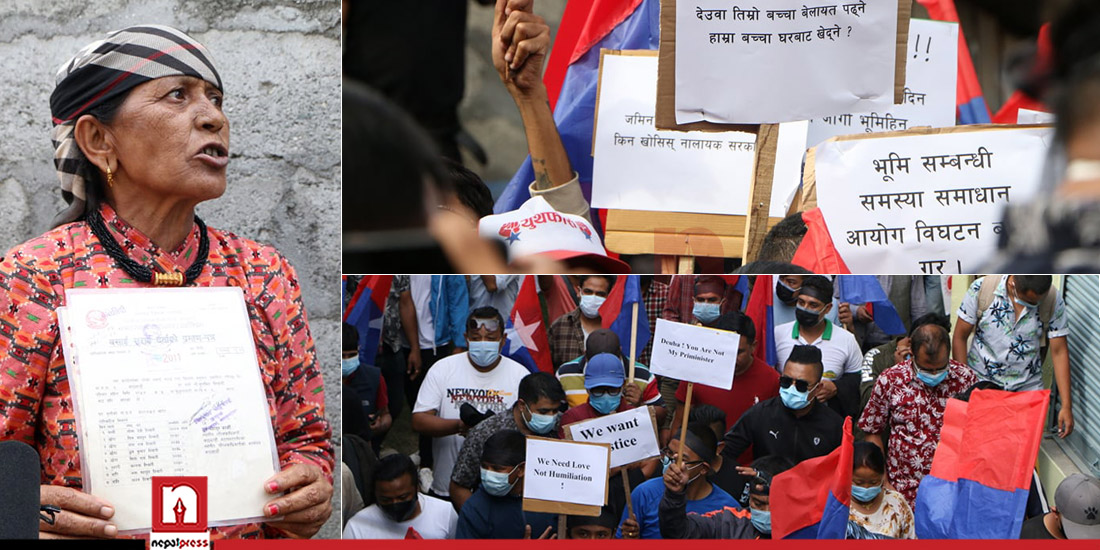 Youth Association takes out rally against dissolution of Land Commission (With photos)