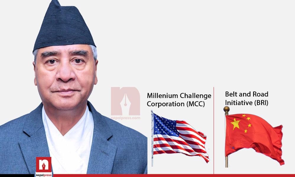 MCC vs BRI: Deuba's challenge to keep China and US in balance
