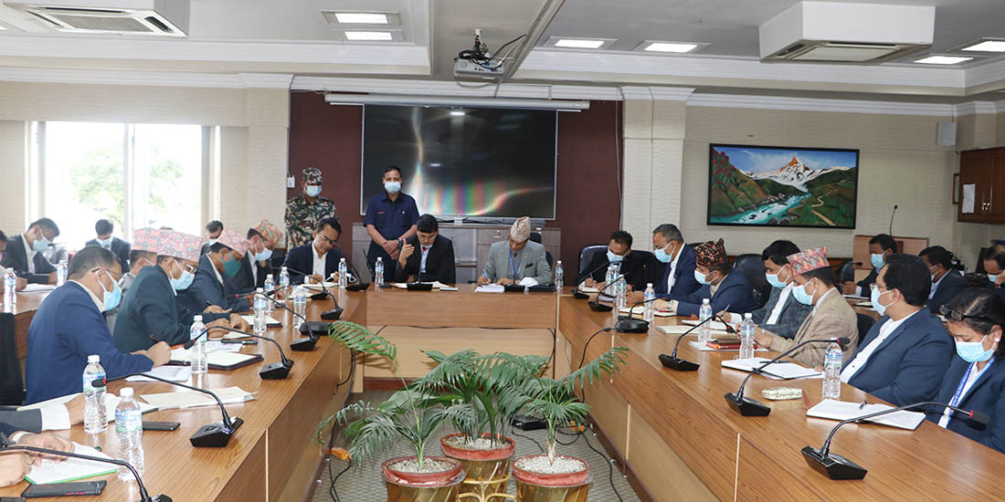 Government to revise budget introduced by Oli-led government thru ordinance