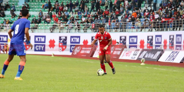 Nepal play 1-1 draw against India in international friendly