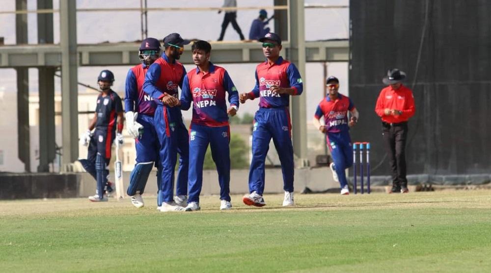 WC League-2 Tri-Nation ODI series: Nepal beat USA by 5 wickets