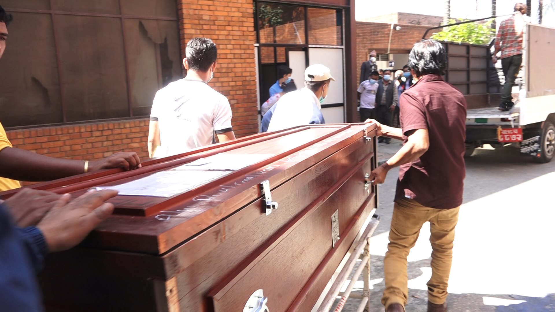 Bodies of 6 Nepali migrant workers brought to Nepal from Malaysia