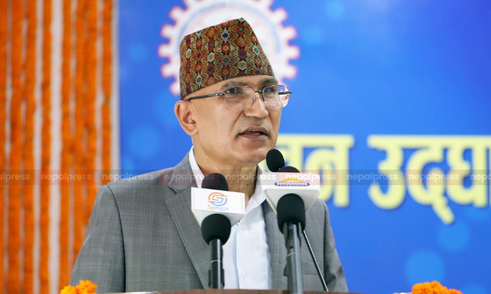 UML leader Paudel warns PM not to halt construction of Gautam Buddha Int'l Airport