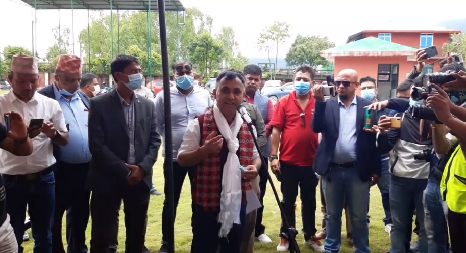NC leader Sharma announces candidacy for post of general secretary