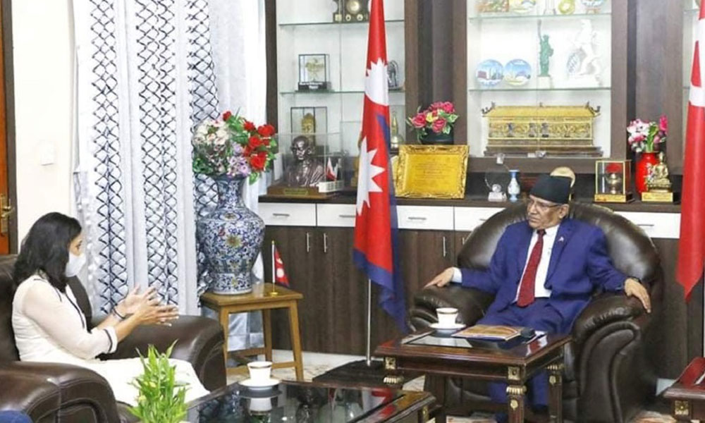 MCC will be endorsed only after forging national consensus, Dahal tells Sumar