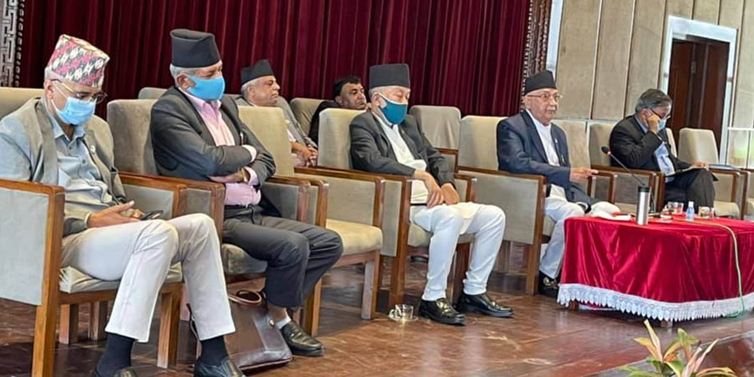 Oli warns of obstructing Parliament if lawmakers expelled by UML attend today's meeting