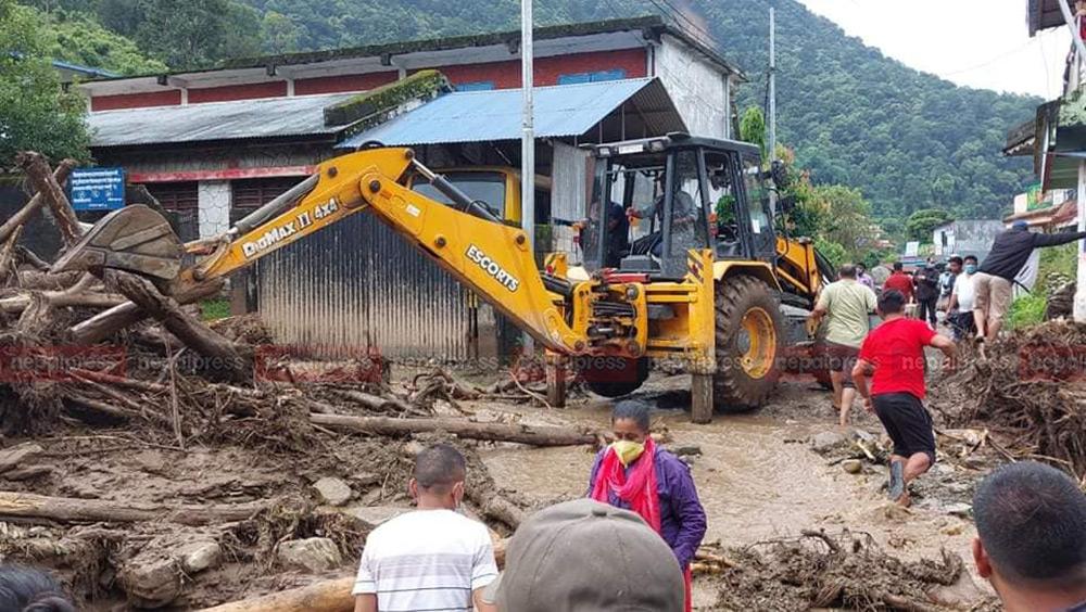 5 killed, 1 missing in assorted incidents of landslide in Kaski