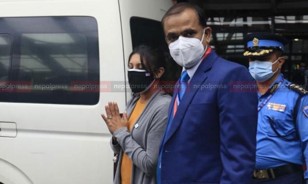 MCC team led by Fatema Z Sumar arrives in Kathmandu