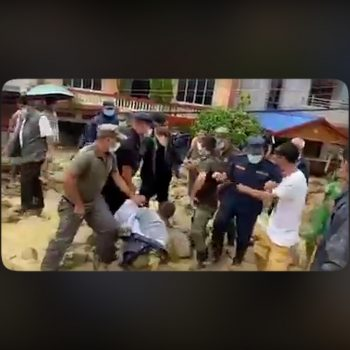 Furious locals attack Butwal's Mayor Shivaraj Subedi (With video)