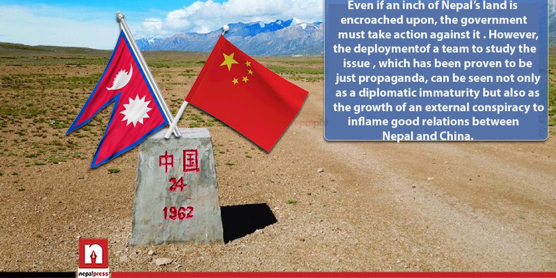Nepal-China border dispute: Propaganda designed to divert attention from Lipulek, tuin incident