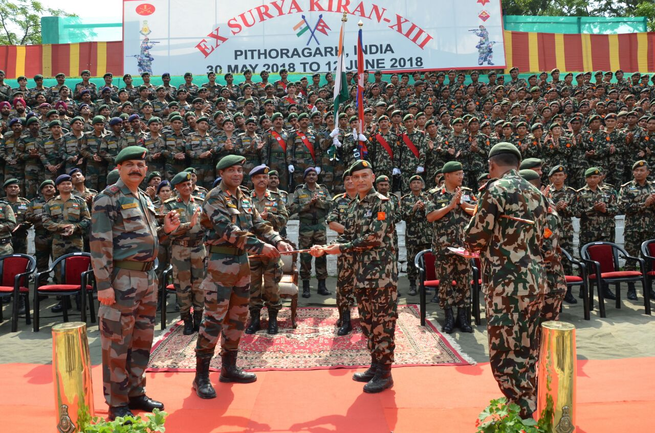 Nepal-India joint military drill to start from September 20