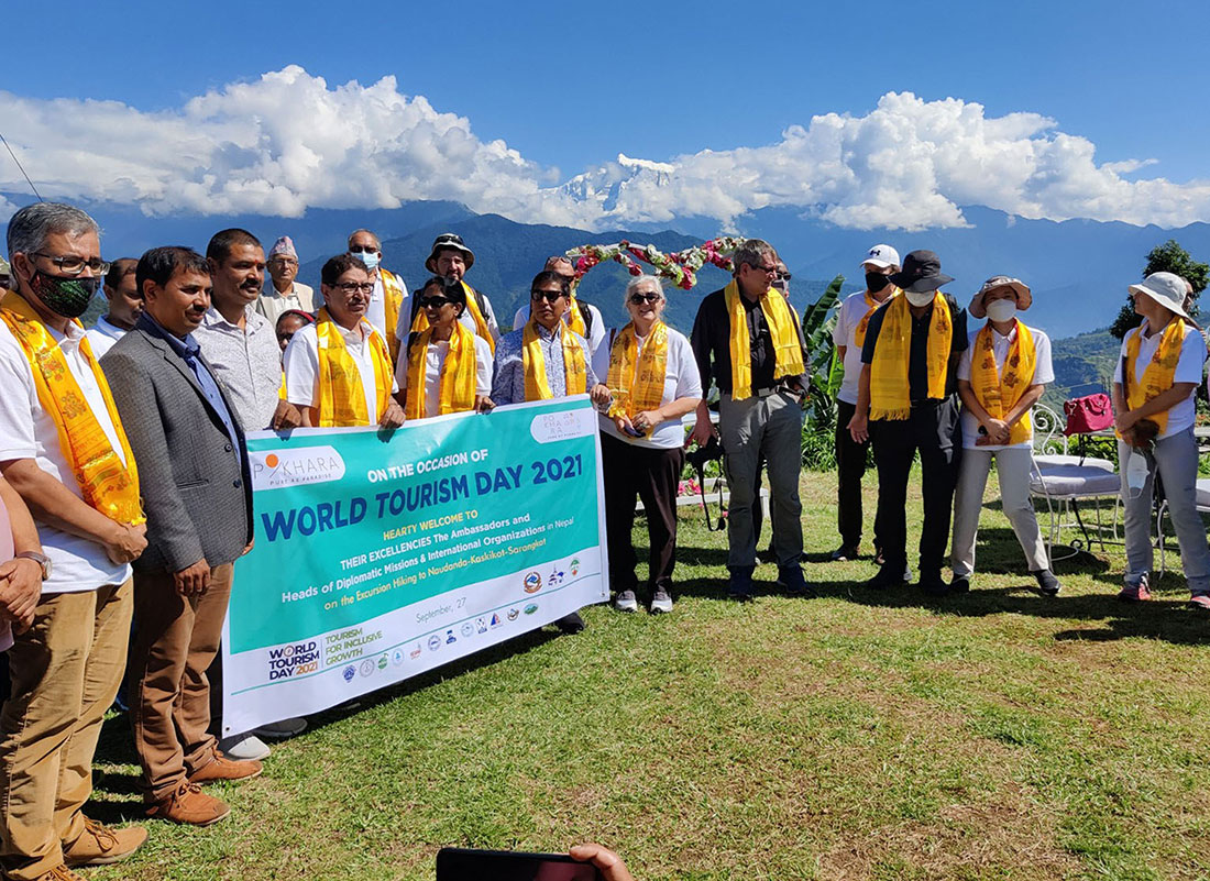 Envoys of 11 countries in Pokhara to help revive tourism sector hit hard by Covid-19