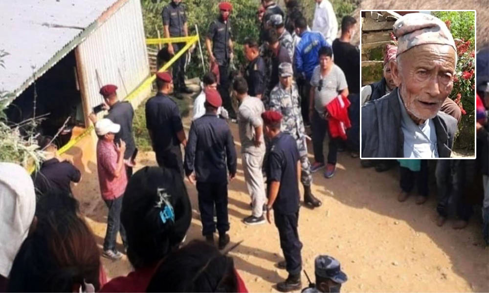 Man nabbed for killing 6 members of a family in Sankhuwasabha
