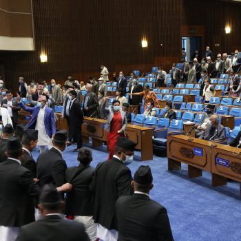 House endorses Appropriation Bill amid protest