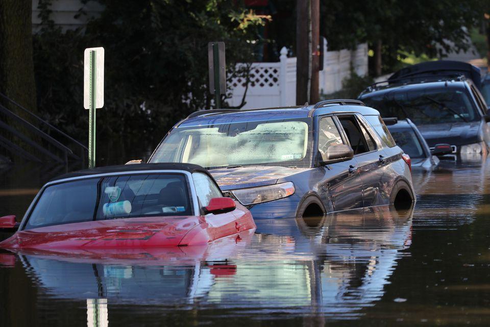 Ida's record rain floods New York-area homes, subways; at least 44 dead