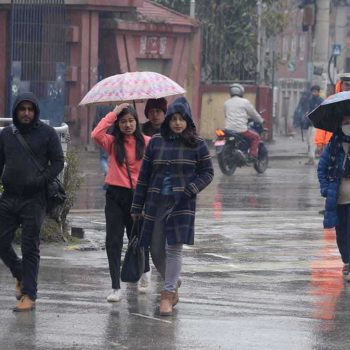 Light to moderate rains forecast until Saturday
