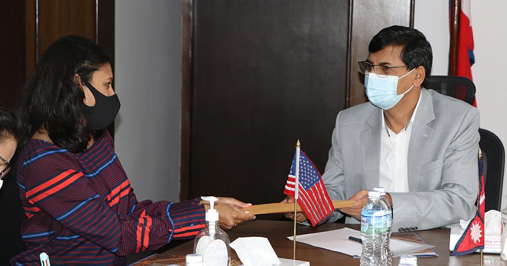 MCC Vice President Sumar meets FinMin Sharma