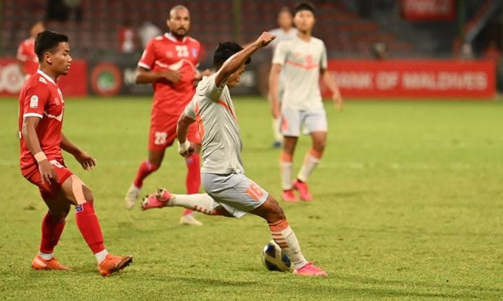 Nepal suffer 3-0 loss to India in SAFF Championship final