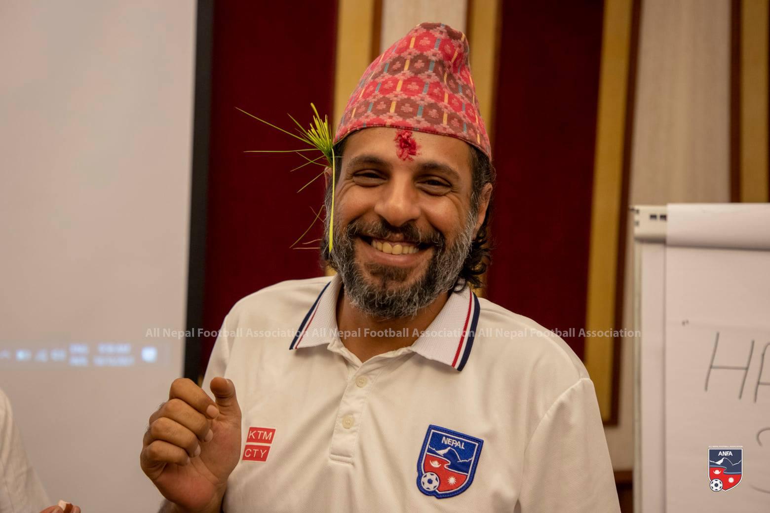 Nepal football coach Abdullah Almutairi shows readiness to return to Nepal