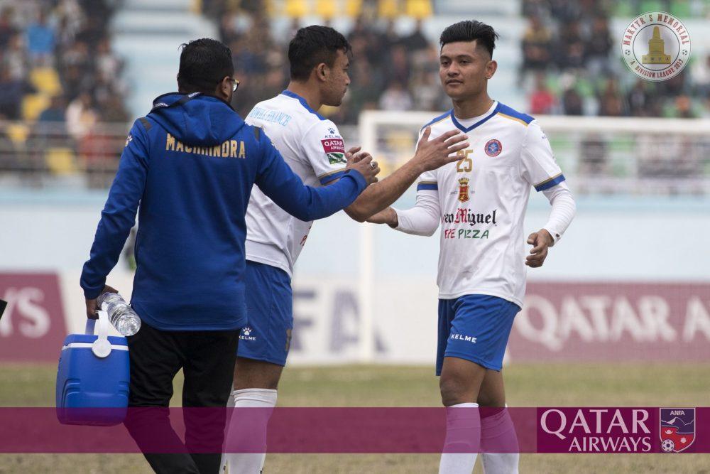 Bimal Gharti Magar to play 'A' division league from Macchindra Football Club