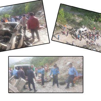 8 killed as jeep skids off road in Ghandruk