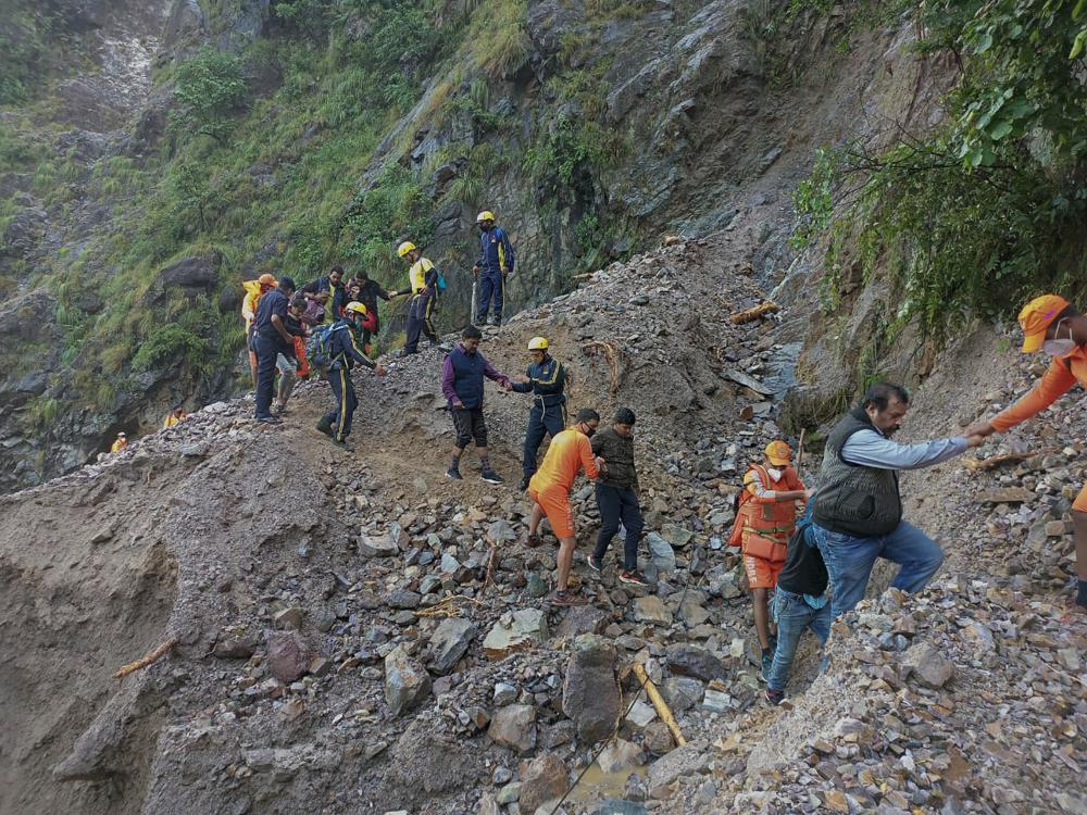 46 dead after heavy rains, landslides in northern India