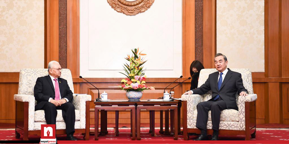 """""""China has no intention to intervene in Nepal's internal affairs"""""""