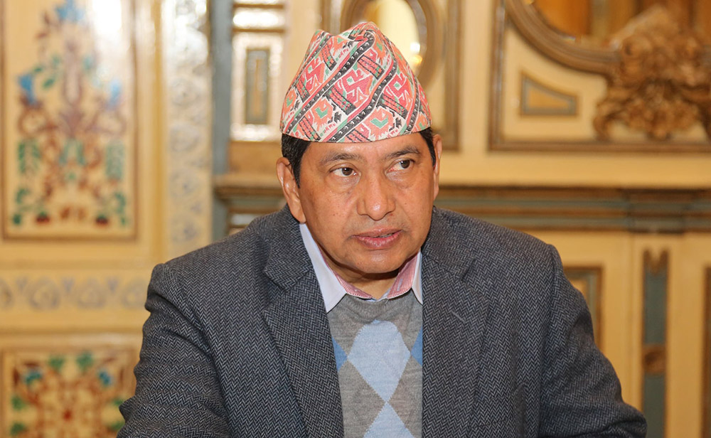 Shrestha expresses dissatisfaction over formation of Foreign Affairs Department