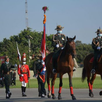 Nepal Army organises parade to celebrate Fulpati in Tundikhel (With photos and video)