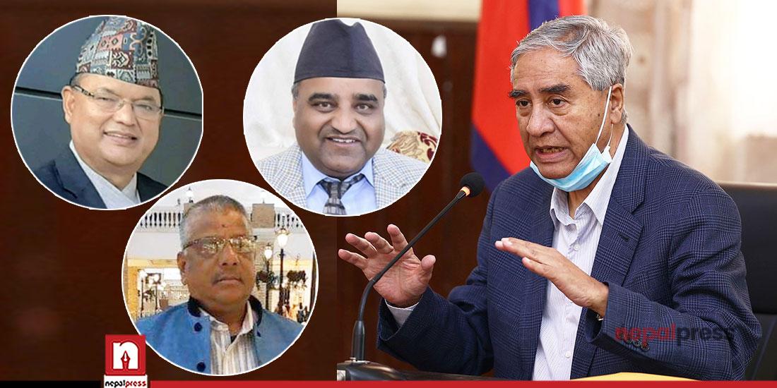 NC lawmakers urge PM Deuba to change CM in Sudurpaschim Province