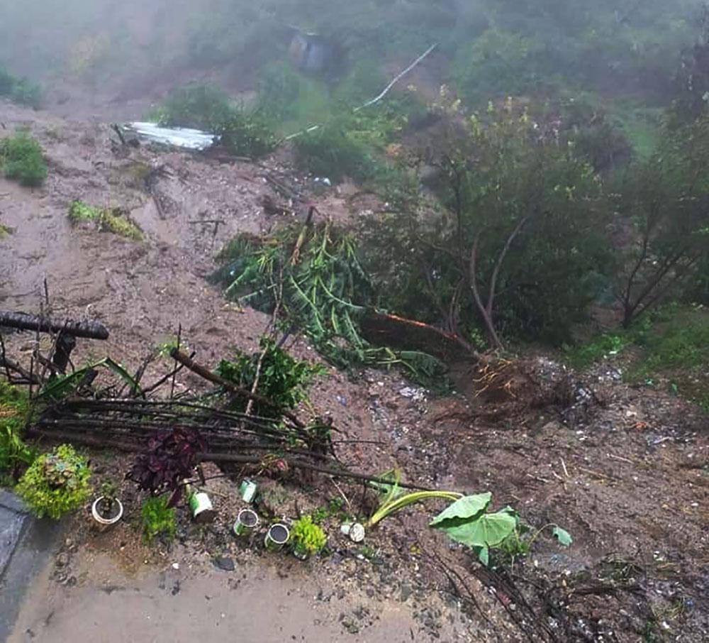 1 killed, 2 injured in Dadeldhura landslide