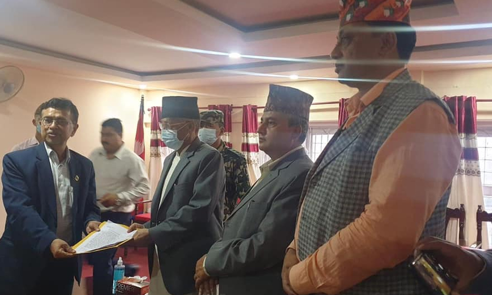 Pandey claims for new CM post of Bagmati Province